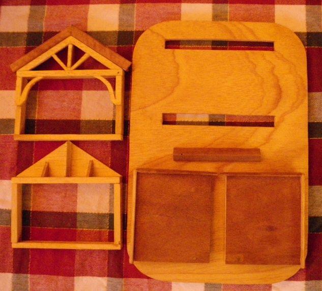 Crèche en bois démontable, 2010