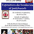 Exposition, loches (37), 29-30 sept, 1er oct 2017
