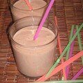 Smoothie abricot-pche