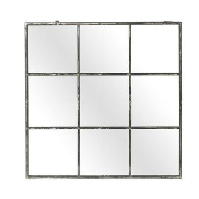 Miroir m tal photo de cadres et miroirs ligne claire for Miroir cadre metal