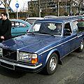 Volvo 244 gl corbillard pilato, 1979