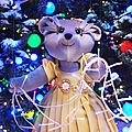 Les oursons s'habillent en Prada / Vitrines Noel 2013 / Le print