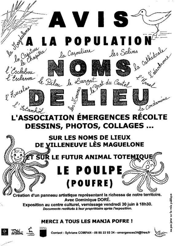 nOMS DE LIEUX