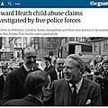 Breve: ted heath, 1er ministre et pédophile aux nombreuses casseroles passées à la trappe