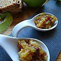Pomme & pain d'épices en compotée…