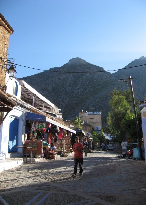 Village Chafchawen Nord Maroc