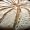 Le pain-galette médiéval aux graines de pavot
