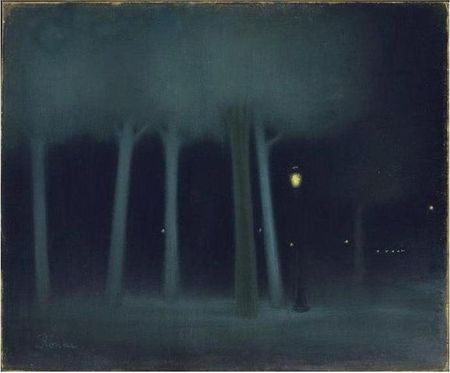 A_PARK_AT_NIGHT_1892_1895