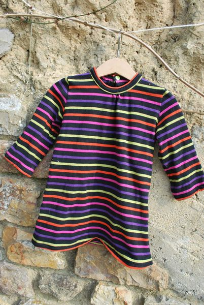 must have robe rayée 005