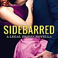 ** cover reveal ** sidebarred by emma chase