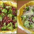Tarte aux brocolis & aux lardons
