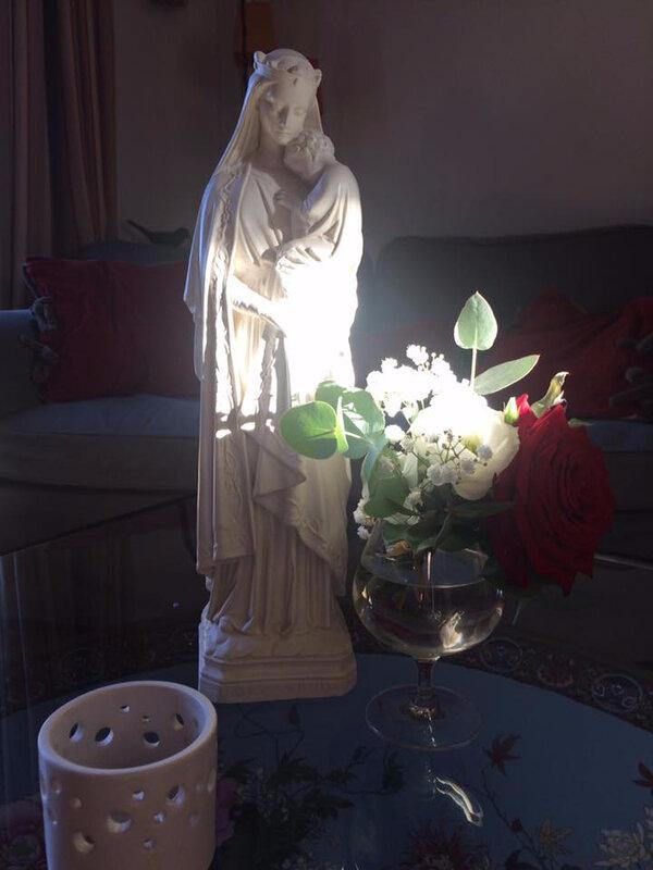 Vierge à l'Enfant Au nom du Père - Bijoux