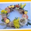 Couronne de pâques pas a pas /easter wreath how to ...