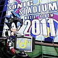 The sonic stadium music album 2011