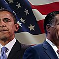 Elections usa 2012 - obama-romney : le duel final !