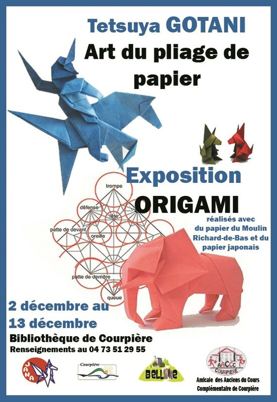 Expo origami Courpiere 2013