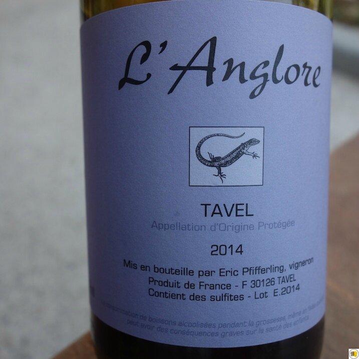 Tavel L'Anglore 2014