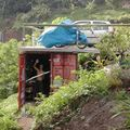 Mon garage container sous-terrain à Tahiti