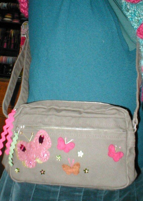 Mon sac aux papillons