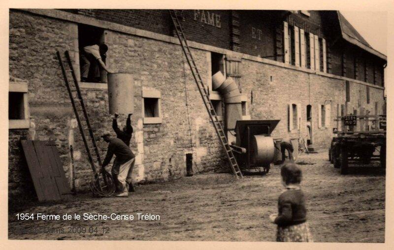 TRELON-1954 Ferme de la Sèche-Cense Trélon Bis
