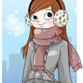 Winter girl