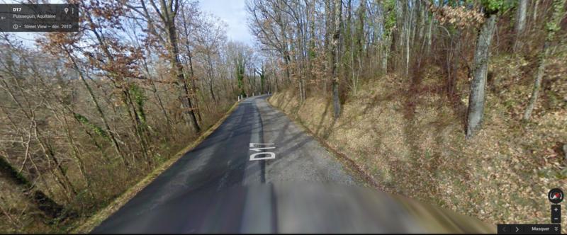 Capture de google maps SUBERPE ROUTE FRANCAISE BIEN SIGNALE