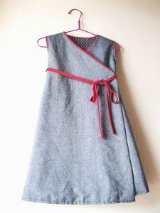 robe croisée 1
