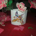 vase péroquet