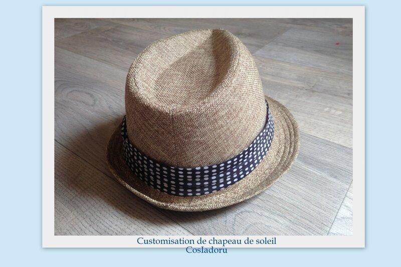Customisation de chapeau de soleil