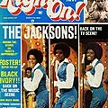 The jacksons: back on the tv screen scene - right on!, mars 1977