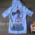 Abbey Dawn Checkered Skull Hoodie