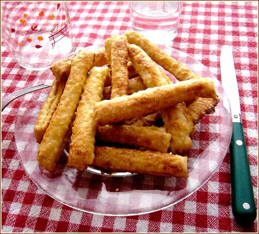Biscuits pommes frite