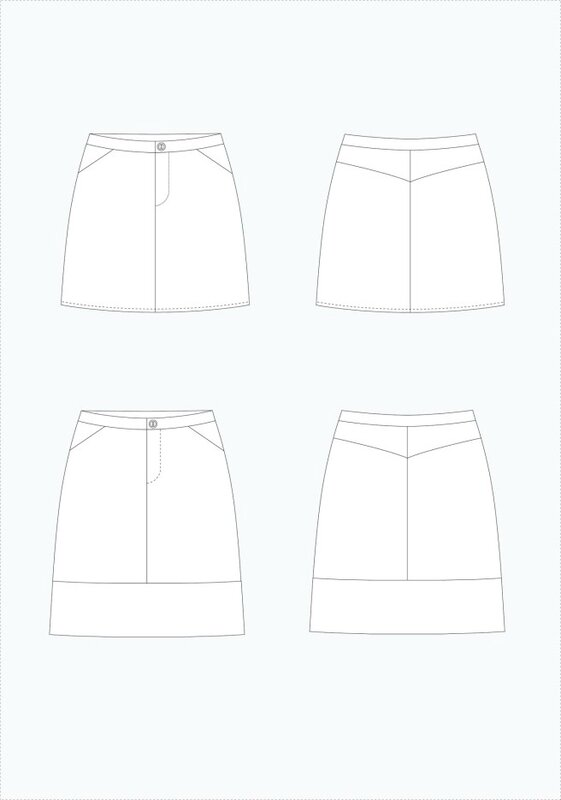 copyright_grainline_studio moss mini skirt