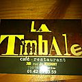 La timbale - paris 18