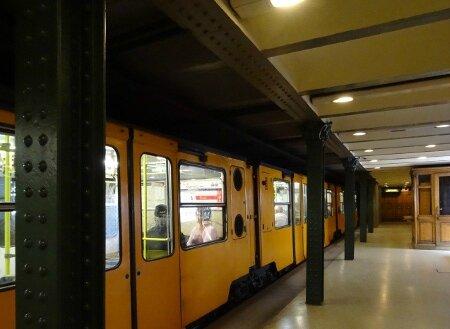 Métro Budapest 2 ligne1