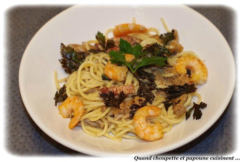 spaghettoni aux girolles-1322