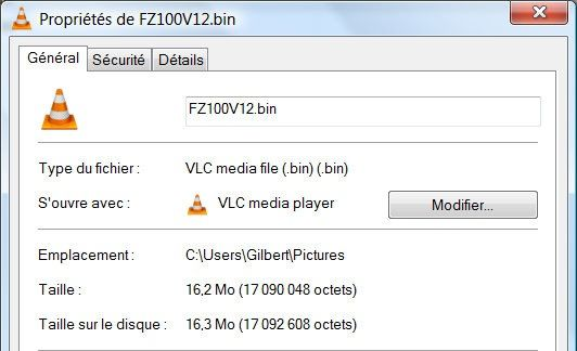 Propriétés de FZ100V12.bin 29112010 212932