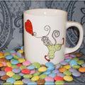 peinture sur porcelaine: mugs