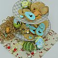 Biscuits confiture de pâques