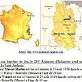 25 août 1914. trois soldats de saint-ambroix tombent dans la meuse
