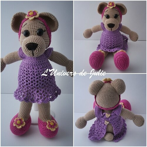 Oursonne Amigurumi Askina L'univers de Julie