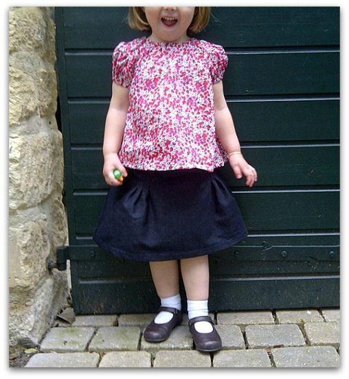 Maud & jupe basique