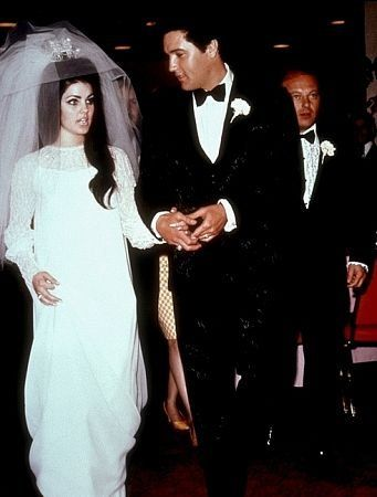 History-of-Wedding-Dresses-Elvis-Presley-Priscilla-Presley-Wedding-Dress-1960s-Color