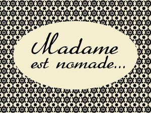 Logo Madame est Nomade