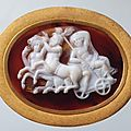 Cameo: Triumph of Dionysus, Alexandria. 1st century BC. 
