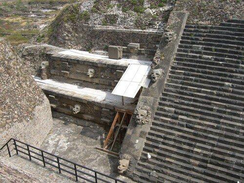 Teotihuacan - Temple of Quetzalcoatl
