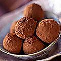 Recette: truffes au chocolat !
