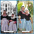Déguisement hollandais pour petite fille