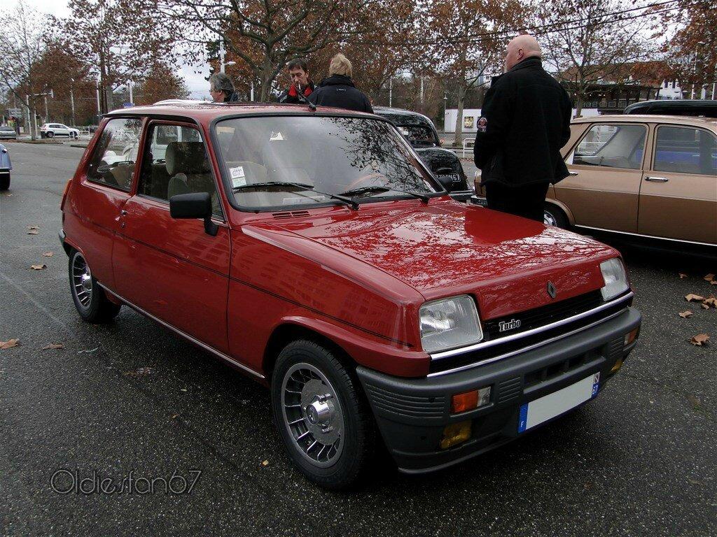 renault 5 alpine turbo 1981 1984 oldiesfan67 mon blog auto. Black Bedroom Furniture Sets. Home Design Ideas