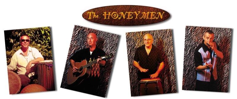 Photos de promo & logo : The Honeymen